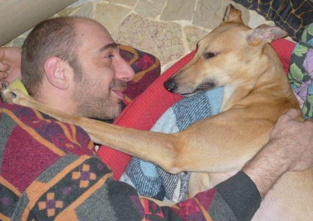 Mauro sordo e Saphira Greyhound